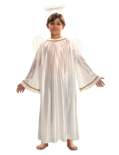 Disfraz ángel blanco niño