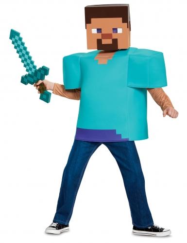 Disfraz Steve clásico Minecraft™ niño-2