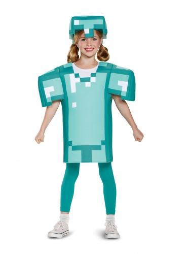 Disfraz armadura Minecraft™ niño-1