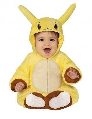 Disfraz muñeco amarillo eléctrico bebé