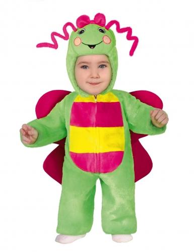 Disfraz de mariposa multicolor bebé