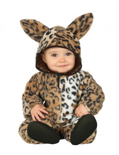 Disfraz de leopardo peluche bebé