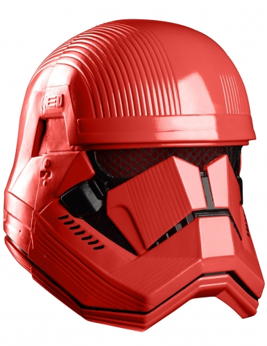 Máscara lujo integral rojo Sith Trooper™ adulto