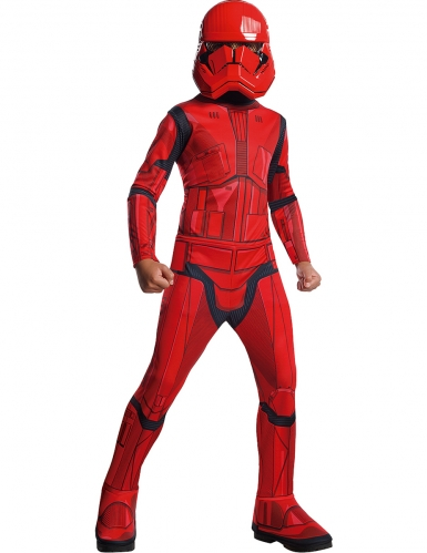 Disfraz clásico rojo Sith Trooper™ niño