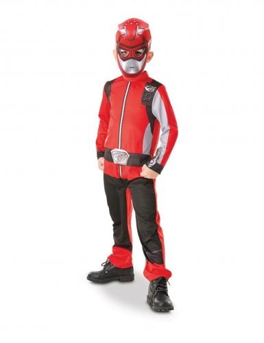 Disfraz clásico Power Rangers™ rojo niño