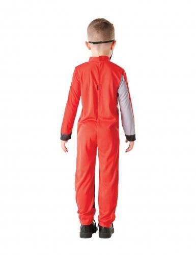 Disfraz clásico Power Rangers™ rojo niño-2
