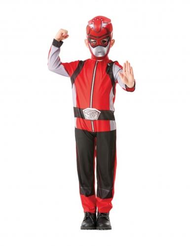 Disfraz clásico Power Rangers™ rojo niño-3