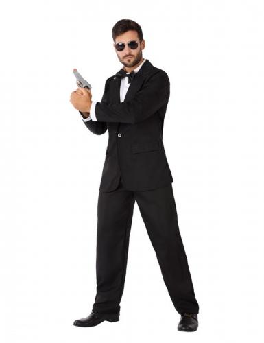 Disfraz agente secreto en smoking hombre