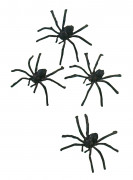Araña peluda ideal para Halloween
