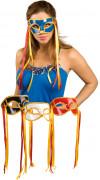 Antifaz de carnaval veneciano para adulto