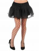 Pantys de malla negra para mujer ideales para Halloween