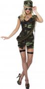 Disfraz de soldado sexy para mujer