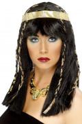 Peluca egipcia para mujer