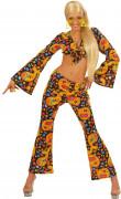 Disfraz hippie años 70 para mujer