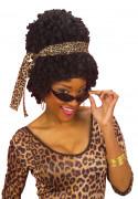 Peluca afroamericana para mujer