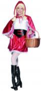Disfraz de Caperucita Roja sexy para mujer