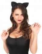 Orejas negras de gato
