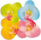 Pétalos de flor hawaiana falsos