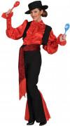 Disfraz de andaluza con traje de corto