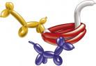 Globos moldeables con inflador