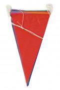 Guirnalda de banderines de papel