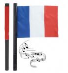 Bandera sonora de aficionado de la selección francesa