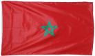 Bandera de aficionado marroquí