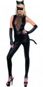 Disfraz de gata sexy para mujer, ideal para Halloween