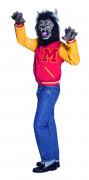 Disfraz de hombre lobo del campus para adulto, ideal para Halloween