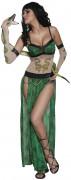 Disfraz de encantadora de serpientes para mujer, ideal para Halloween