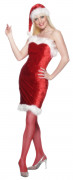 Disfraz de miss Navidad para mujer
