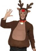 Disfraz de reno de Navidad para adulto