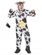 Disfraz humorístico de vaca para adulto