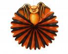 Bola decorativa en forma de murciélago ideal para Halloween