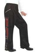 Pantalón de Michael Jackson™ con hebillas para niño