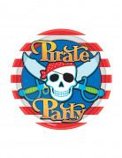 Platos estilo pirata