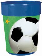 Vasos estilo fútbol