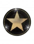 Miniplatos con estrellas doradas