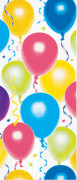 Bolsa para regalos con dibujos de globos