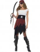 Disfraz de pirata para mujer calavera