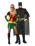 Disfraz de pareja de Batman y Robin™ adulto