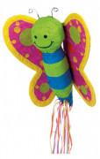 Piñata en forma de mariposa