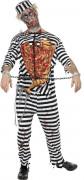 Disfraz de preso zombie ideal para Halloween