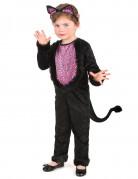 Disfraz de gatita para niña
