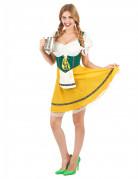 Disfraz bávara amarillo mujer