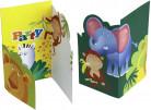 6 tarjetas de invitación estilo safari