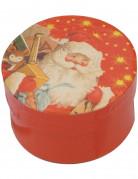 Minicajas redondas de Papá Noel