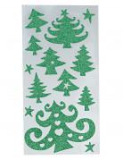 Pegatinas en forma de árbol de Navidad