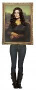 Disfraz de cuadro de la Monalisa para adulto