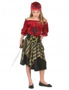 Disfraz pirata rebelde niña